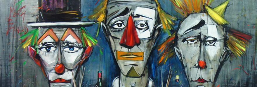 Les représentations clownesques chez Bernard Buffet